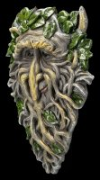 Forest Spirit Wall Plaque - Greenman Roots