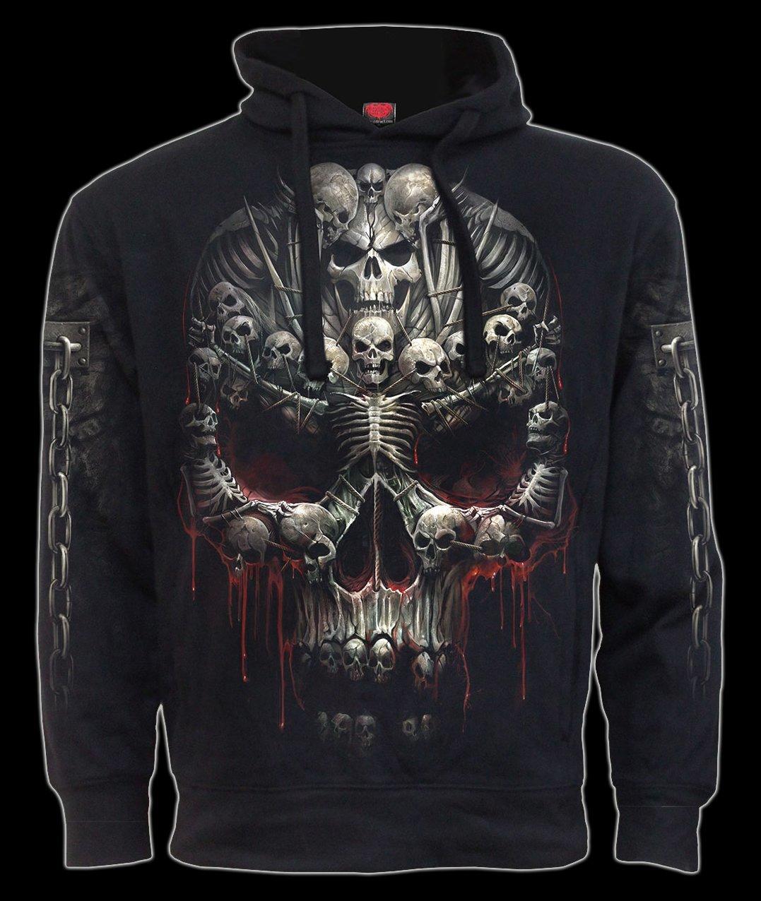 Death Bones Fantasy Hoody