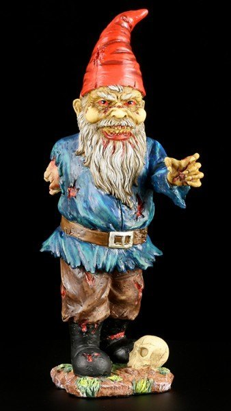 One-Armed Zombie Gnome Garden Figure - Father