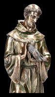 Heiliger Franziskus mit Tieren - Figur