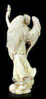 Kleine Erzengel Figur - Uriel - Weiß