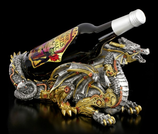 Dragon Bottle Holder - Guardian of the Grapes