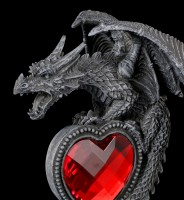 Dragon Figurine - Syus with red Heart