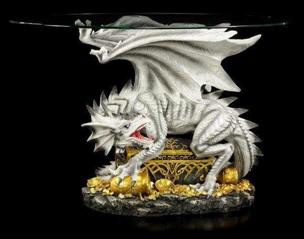 Drachentisch - Weißer Drache Wyldclaw