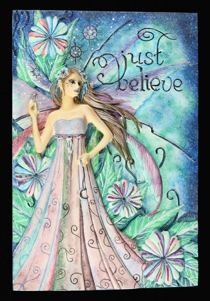 Fairy Wall Plaque - Just Believe