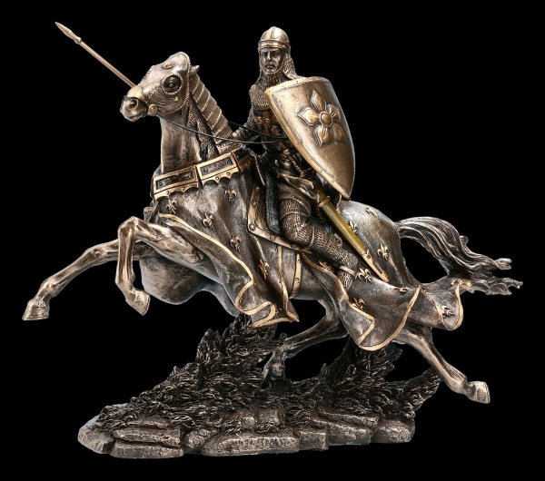 Ritter Figur - Kavalier Caylen mit Speer