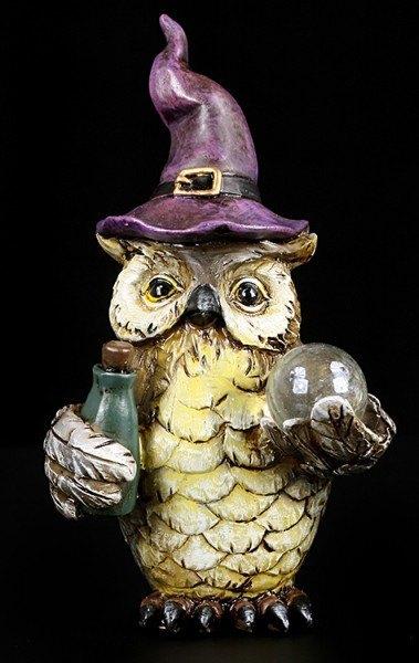 Owl Figurine Set of 2 - Sorcerer Harry