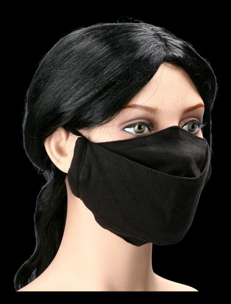 Face Mask Gothic - Urban Fashion Black