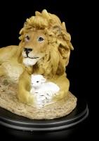 Der Löwe und das Lamm Figur