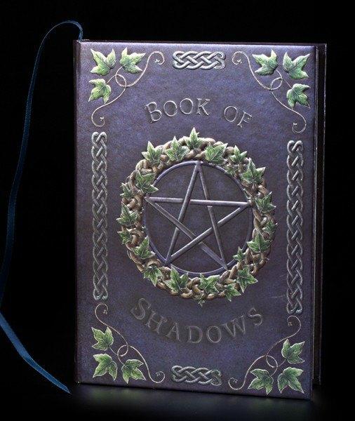High Class Hardback Journal - Book Of Shadows Ivy