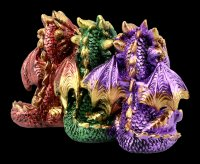Colorful Dragon Figure - No Evil
