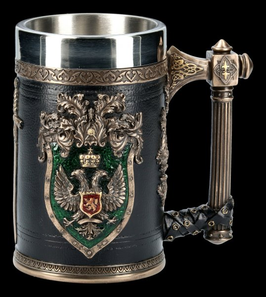 Mittelalter Krug - Empire - bronziert