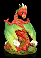 Drachen Figur - Strawberry Dragon by Stanley Morrison