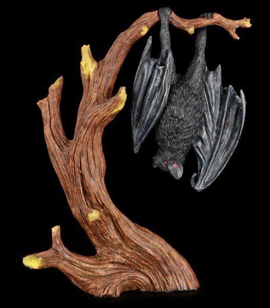 Bat Figurine hanging on Tree