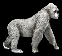 Affen Figur - Gorilla Antik Silber