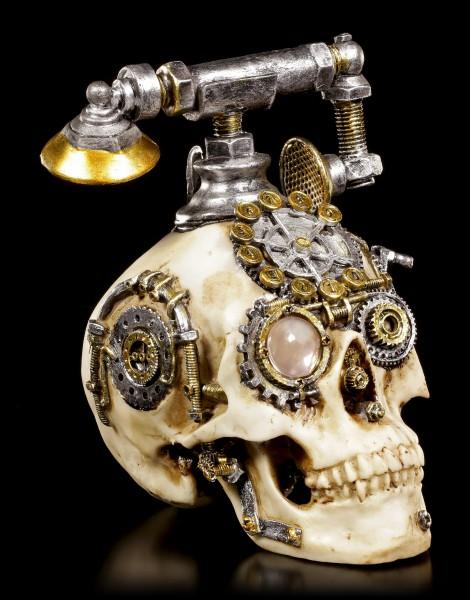 Steampunk Totenkopf Telefon - Dead Ringer