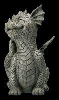 Garden Figurine - Dragon Scratches Himself