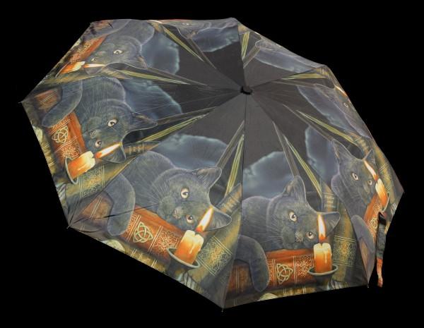 Regenschirm mit Katze - Witching Hour