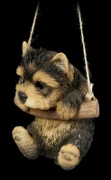 Hängende Hunde Figur - Yorkie Welpe