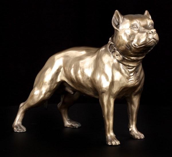 Hunde Figur - Pit Bull Terrier
