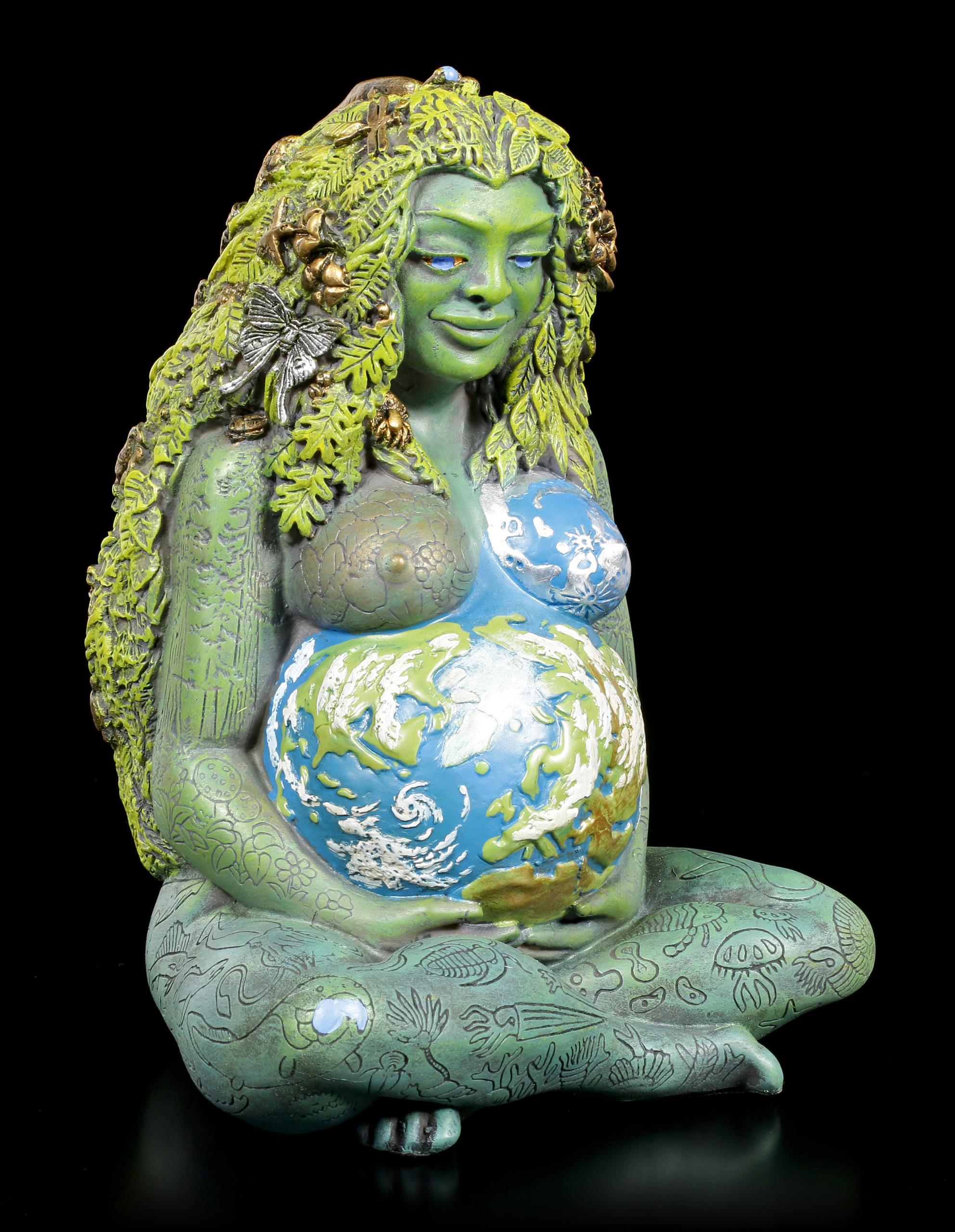 Ancient Gaia Statue millennial gaia figurine - mother earth