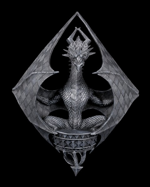 Wall Plaque - Dragon of Diamonds by Stanley Morrison