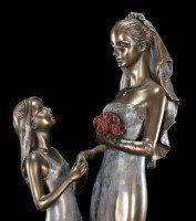 Braut Figur mit Brautjungfer