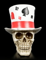 Skull with Top Hat - Casino Jack