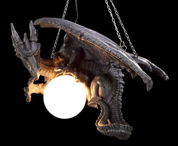Hänge - Drachenlampe
