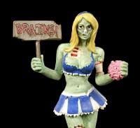 Zombie Figur - Cheerleaderin
