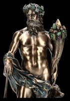 Faustulus Figur mit Romulus und Remus