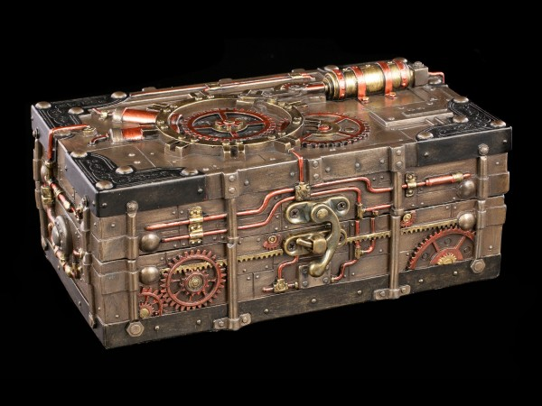 Steampunk Box - The Enigma Vault