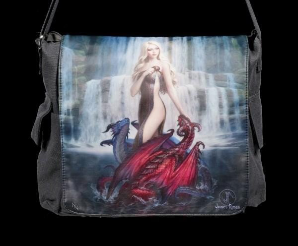 Messenger Bag - Dragon Bathers