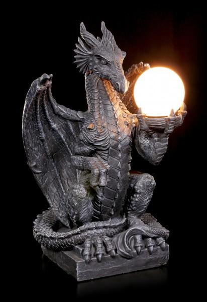Drachenlampe - Sitzender Drache