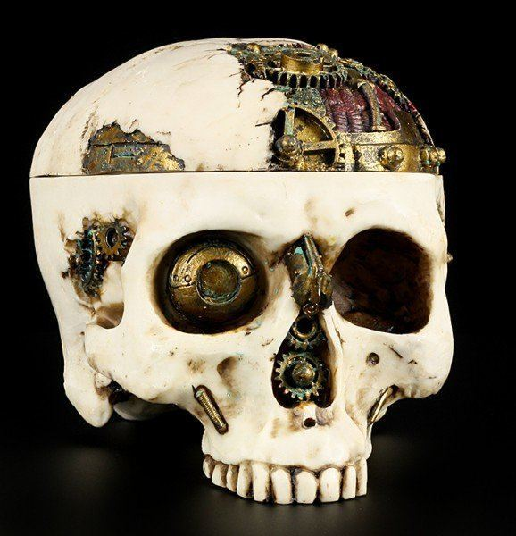 Skull Box - Steampunk