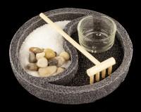 Mini Zen Garden Set - Ying & Yang