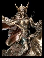 Valkyrie Figur - Walküre mit Pferd