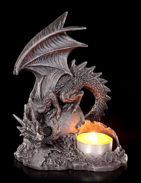 Tealight Holder - Dragon Lair left