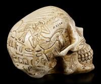 Totenkopf mit Hieroglyphen - The Egyptian