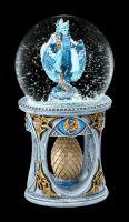 Snow Globe Dragon Heart by Anne Stokes