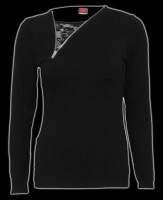 Damen 2in1 Longsleeve - Gothic Rock