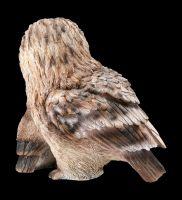 Garden Figurine - Owl with Owlet