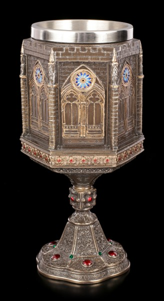 Goblet - Cathedral Decorated with Gemstones