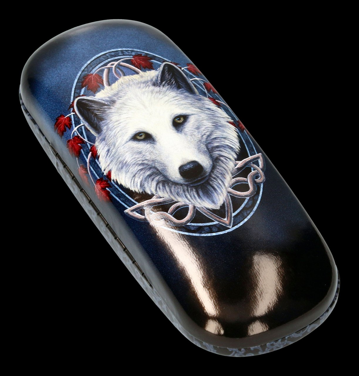 Glasses Case with Wolf - Guardian of the Fall