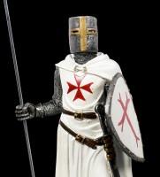 German Templar Knight Figurine - Maltese Cross