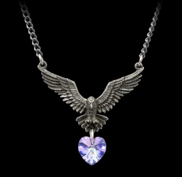 Alchemy Raven Necklace - Hamingja