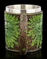 Greenman Tankard - Heart of the Forest