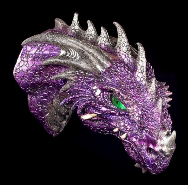 Drachen Schädel - Crom's Kopf mit LED Augen