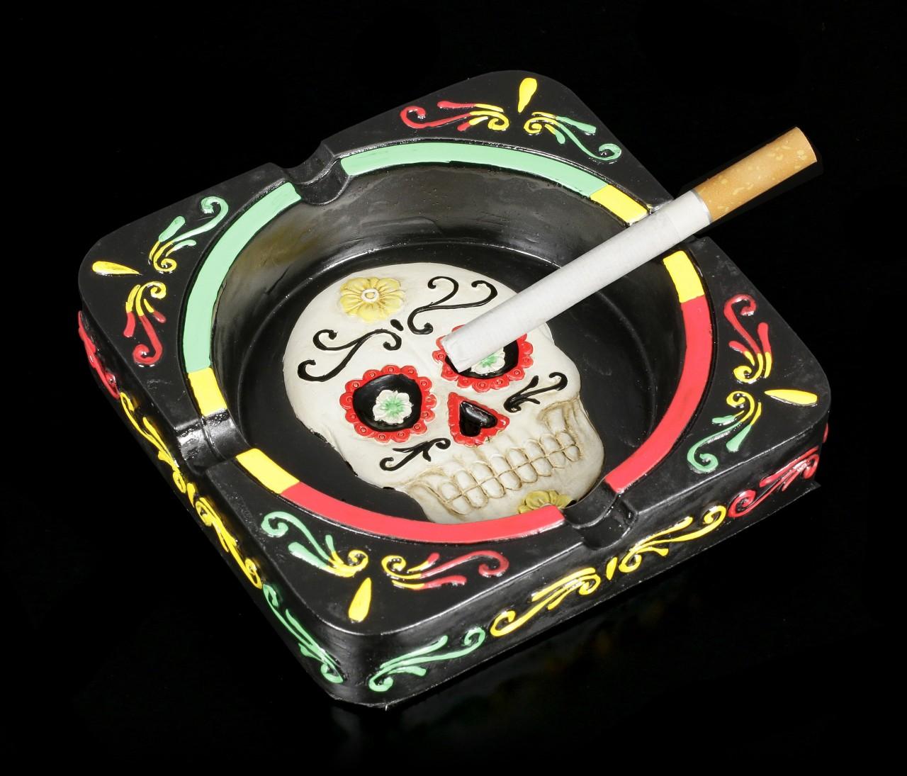 Skull Ashtray - Day of the Dead
