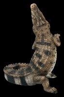 Garden Figurine - Crocodile snaps